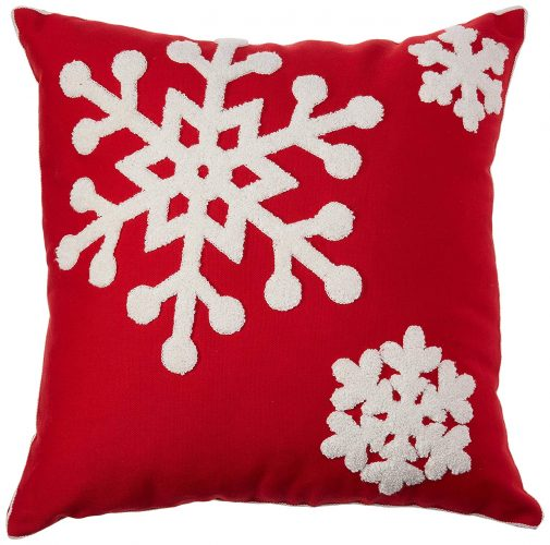 sykting Embroidery Christmas Cover - Christmas Pillow Covers